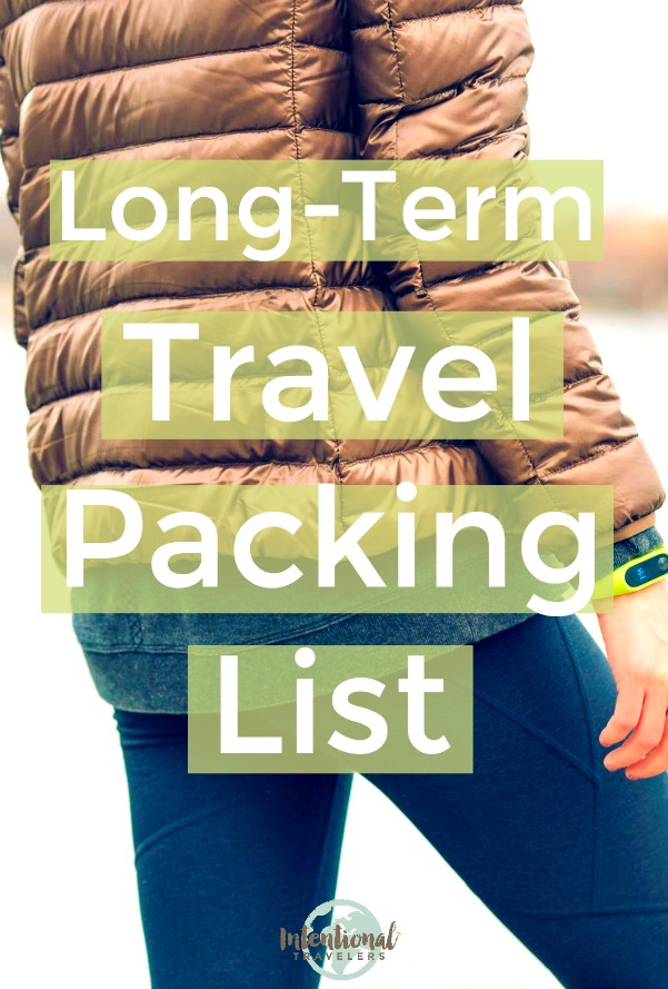 What to pack for long term travel, global nomad travel clothing for men and women | Intentional Travelers