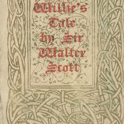 Wandering Willie's Tale - front cover detail
