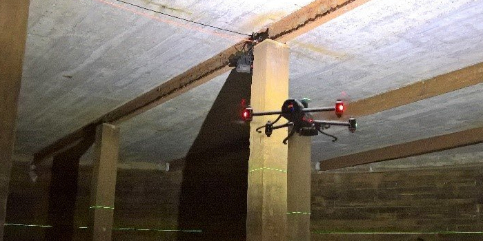 Building a Drone to Fly Inside Storage Tanks