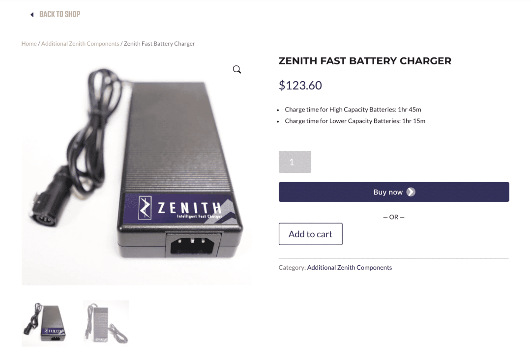 shop charger