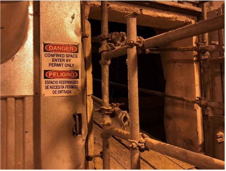 IA's Commitment to Eliminate Confined Space Entry