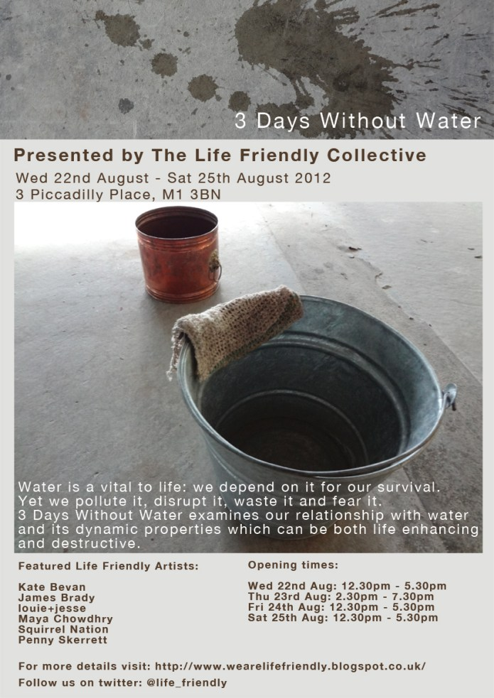 3 days without water poster