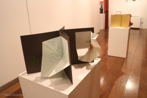 Triptych of poetic sculptures