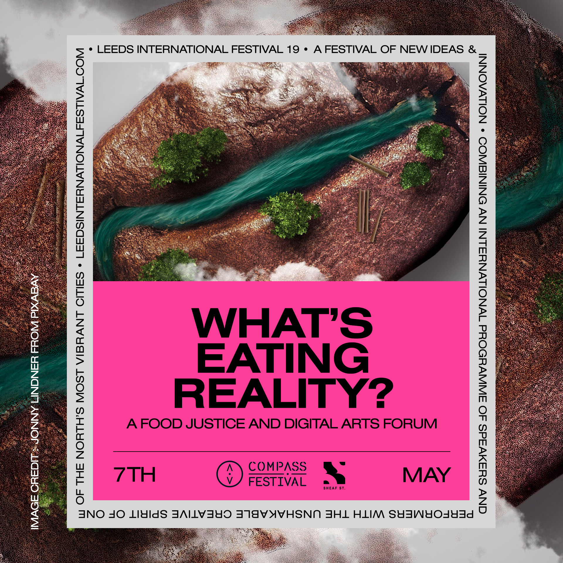 What's Eating Reality? A Food Justice and Digital Arts Forum