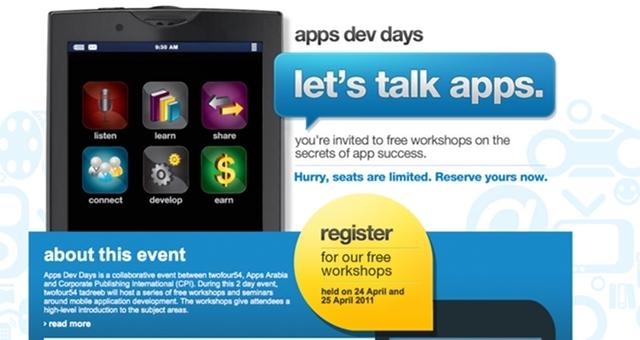 appdevdays screenshot