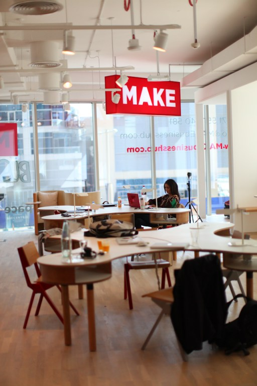 Workstations at MAKE