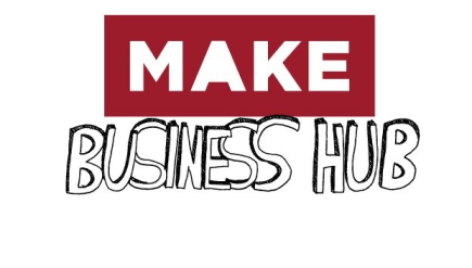 MAKE business hub logo