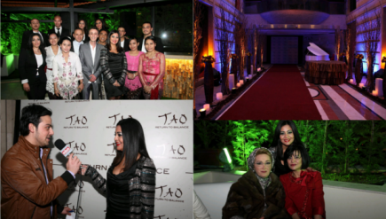 tao spa launch beirut