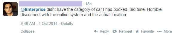 Enterprise Car Rental Customers