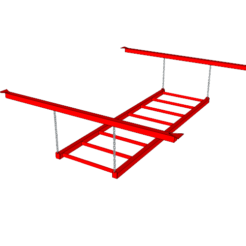 Ninja Training Sports Obstacle - The Monkey Bars