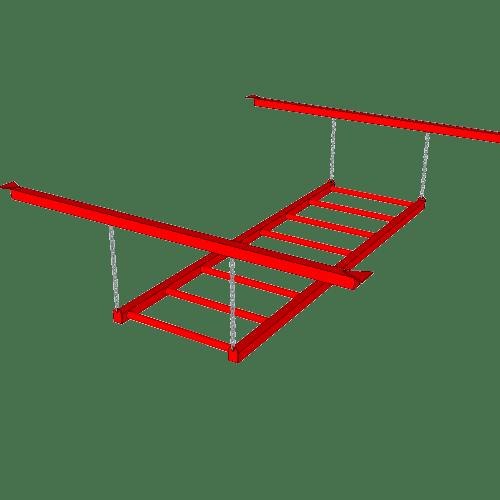 Ninja Training Sports Obstacle - The Monkey Bars