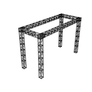 NW-ST-20@Truss_standard_Obstacle_Frame@20.000×13.000×8.000