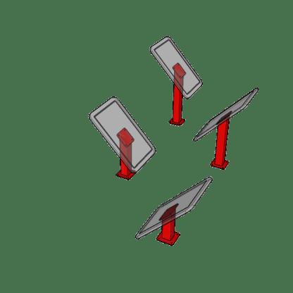 Acrylic_Slanted_Steps