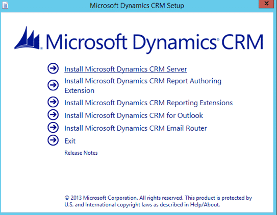 CRM 2013 splash screen crash on Setup DVD / ISO - Interactive Webs