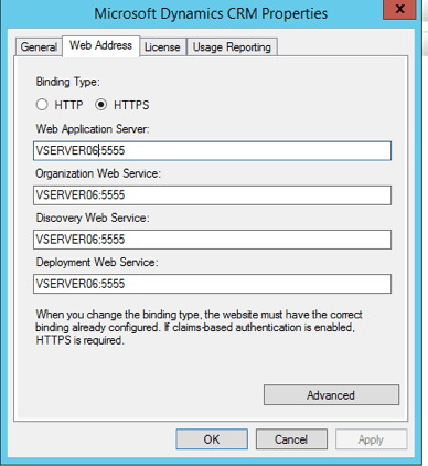 CRM 2015 Internal CRM Settings
