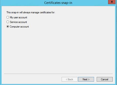Computer Account