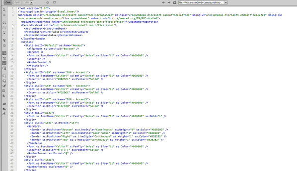 CRM xml dump file in DreamWeaver.png