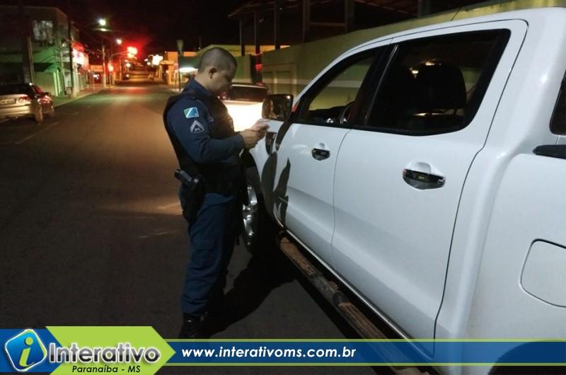PM intensifica fiscalização de trânsito em Paranaíba