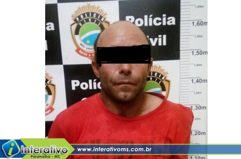 Homem é preso em flagrante por tentativa de furto em Paranaíba