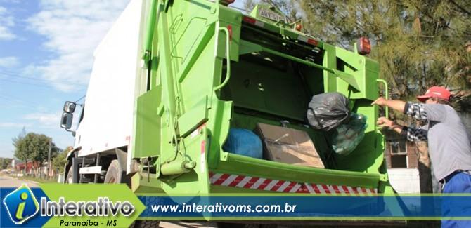 Prefeitura de Paranaíba envia projeto sobre taxa de lixo em regime de urgência para a Câmara