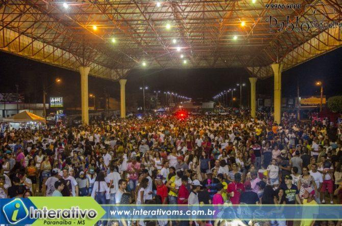 Veja as fotos e vídeo da virada do ano em Paranaíba