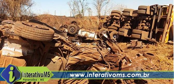 BR 158 faz mais uma vítima fatal entre Paranaíba e Aparecida
