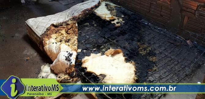 Colchões são incendiados em presídio semiaberto de Paranaíba