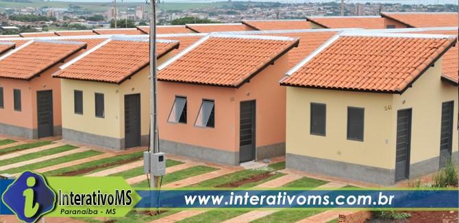 Paranaíba recebe 30 casas através de programa habitacional