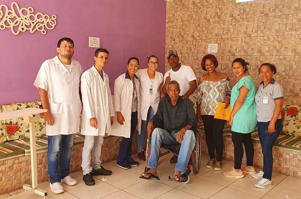 Com ajuda da Santa Casa de Paranaíba idoso reencontra filhos