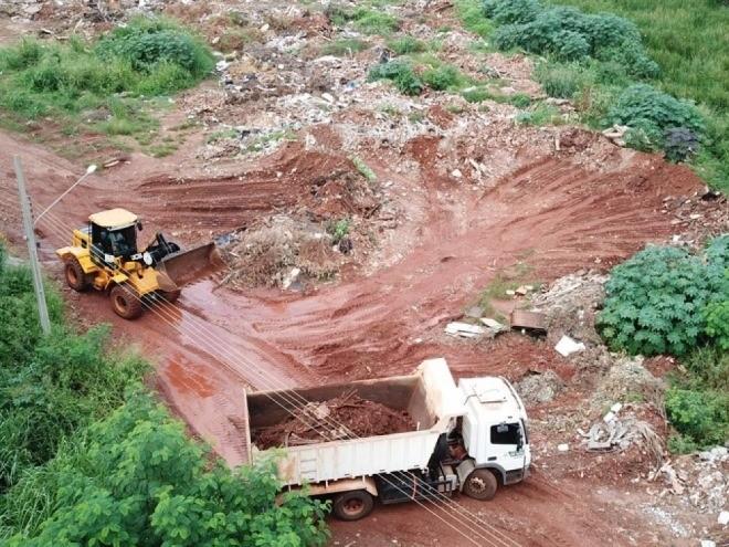 Em cinco dias, mutirão retira cerca de 600 toneladas de lixo em Paranaíba
