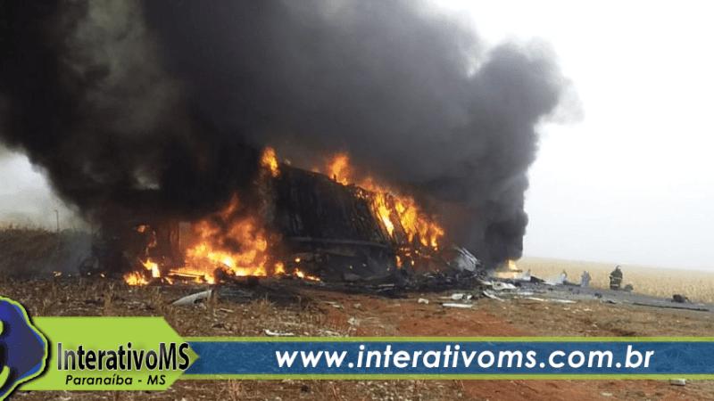 Três veículos se envolvem em acidente fatal na MS-306