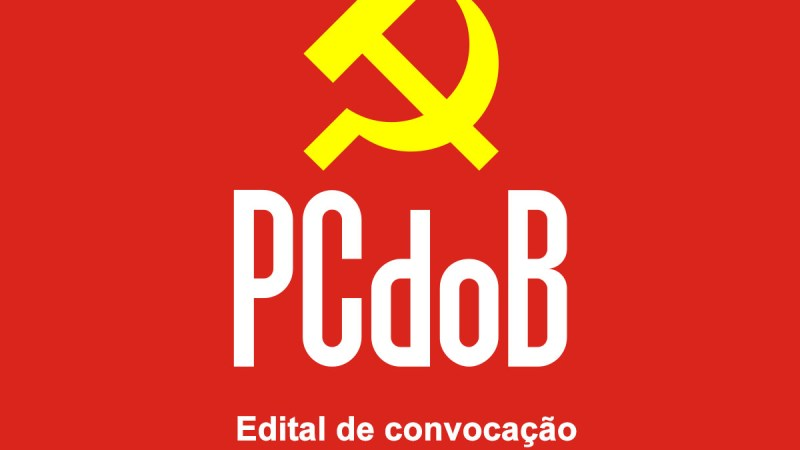 Edital de convocação PCdoB
