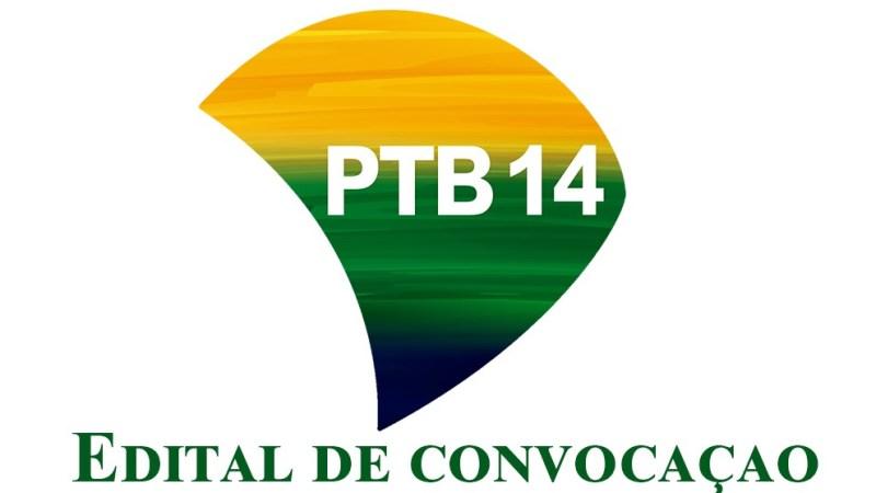 Edital de convocação PTB