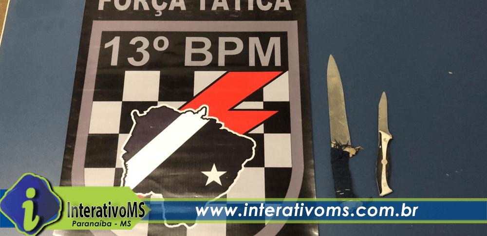 Briga com facas acaba com um preso em Paranaíba