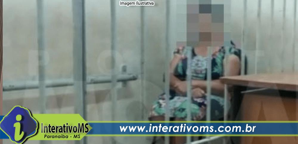 Mulher é presa em flagrante furtando cosméticos em loja no centro de Paranaíba