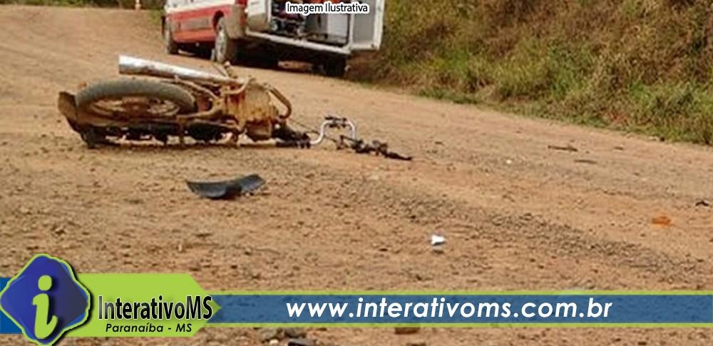 Rapaz de 25 anos perde a vida em acidente de moto na estrada do Guilhermão