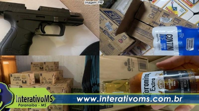 Polícia mira quadrilha de contrabando de cerveja em MS