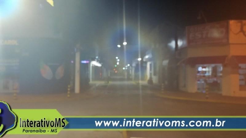 Sensação térmica chega à casa dos 13 graus durante a madrugada em Paranaíba
