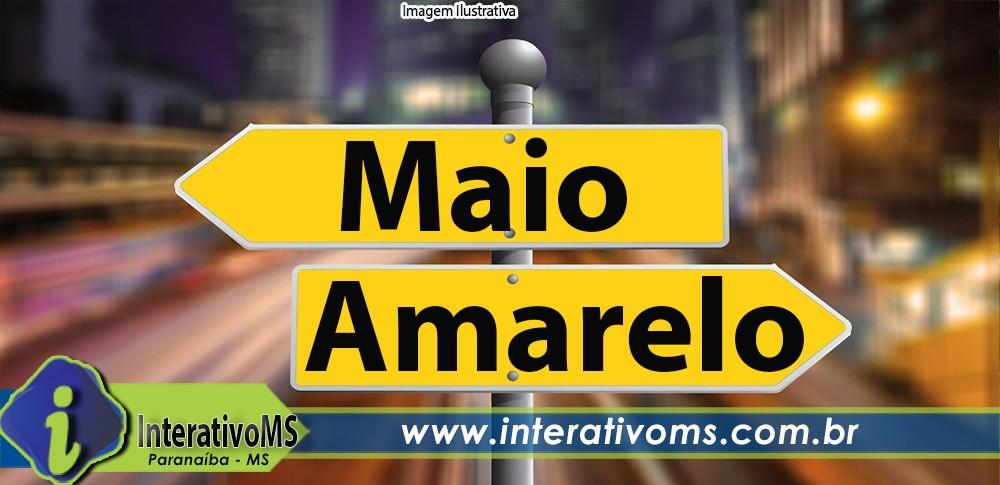 Paranaíba inicia campanha Maio Amarelo