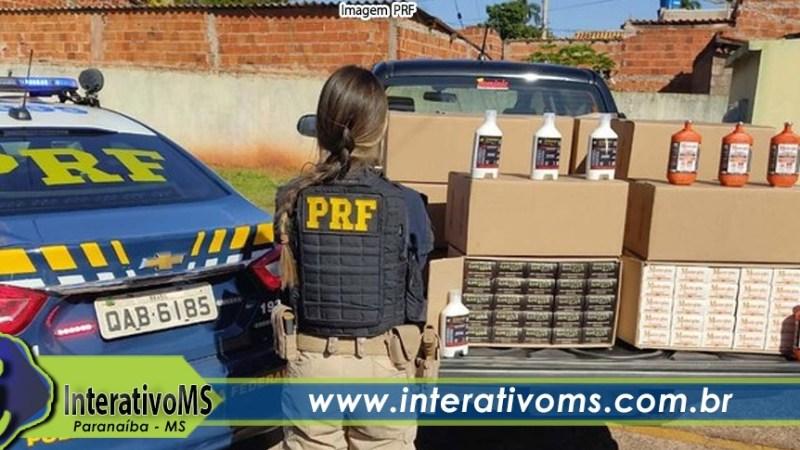 Dois são presos pela PRF com carga irregular de remédios em Paranaíba