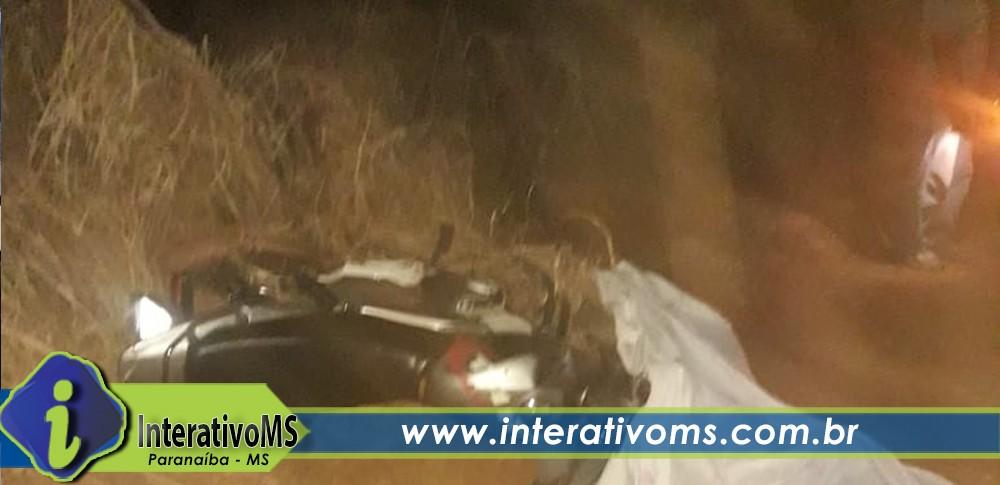 Motociclista perde a vida em acidente próximo ao antigo lixão em Paranaíba