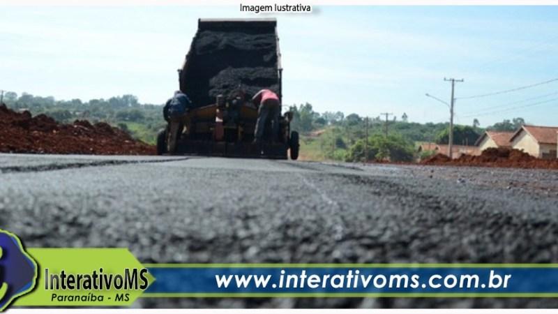 Município lança licitações de mais de R$ 2 milhões para asfalto em Paranaíba