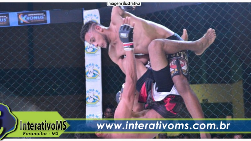 Paranaíbense disputará cinturão de MMA