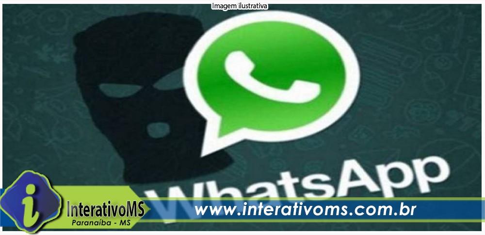 Mulher perde R$ 1200,00 em golpe pelo WhatsApp em Paranaíba