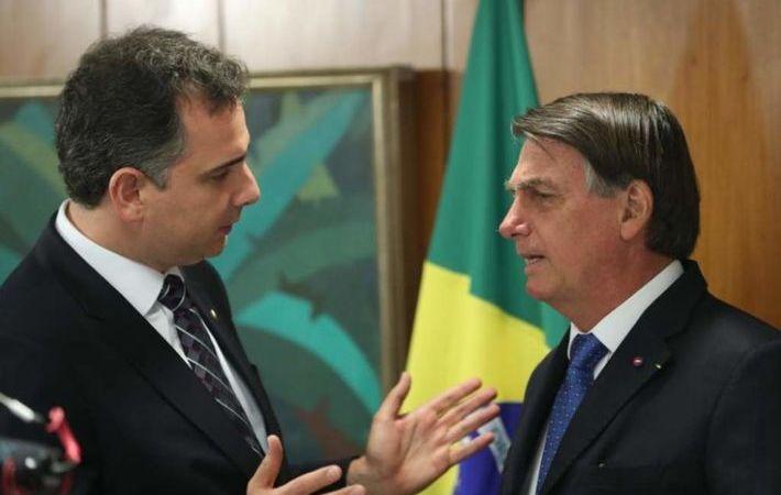 Pacheco decide rejeitar pedido de impeachment feito por Bolsonaro contra Moraes