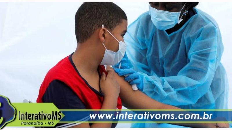 Vacinação contra a Covid-19 atinge 58% dos adolescentes de 12 a 17 anos em Paranaíba