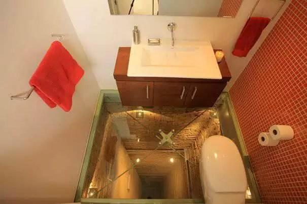 İlginç Banyo Mimarisi