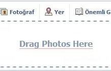 Facebook ve Sürükle - Bırak Fonksiyonu