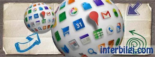 Google beş uygulama