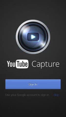 YouTube Capture iOS